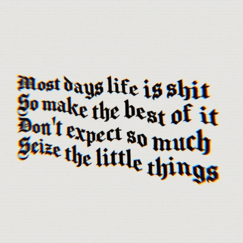 Shit, Best, and Best Of: Most daus like is shit  So make the best of it  1.  cize the li