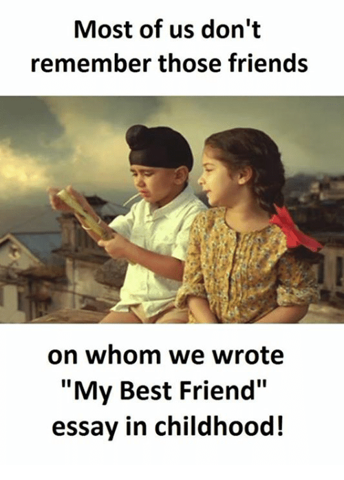 bestfriends essay Bestfriends essays: over 180,000 bestfriends essays, bestfriends term papers, bestfriends research paper, book reports 184 990 essays, term and research papers available for.