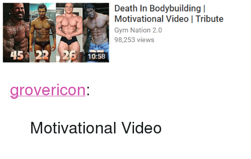 """Gym, Target, and Tumblr: Motivational Video 