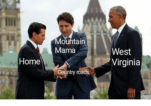 Home, Virginia, and Dank Memes: Mouhtain  Mama  West  Virginia  Home  Country roads