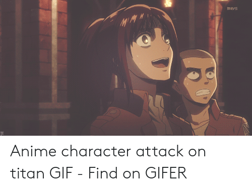 Attack On Titan Gif: ms Anime character attack on titan GIF - Find on GIFER