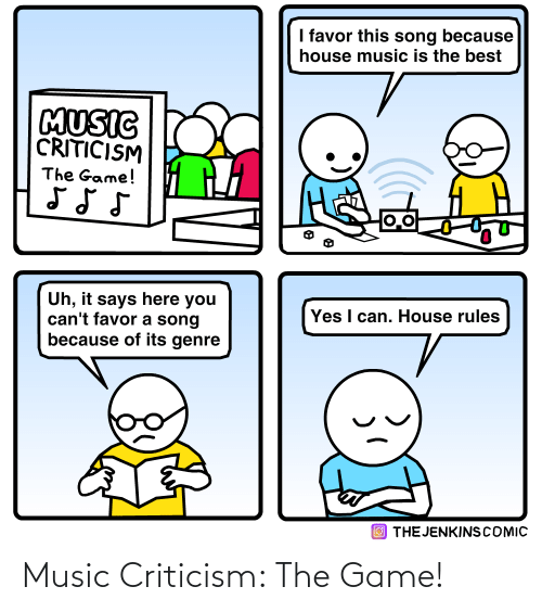 Music: Music Criticism: The Game!