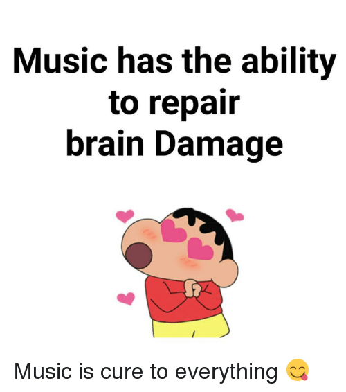 Dekh Bhai, International, and Damages: Music has the ability  to repair  brain Damage Music is cure to everything 😋