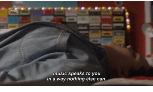 Music, Can, and You: music speaks to you  in a way nothing else can.