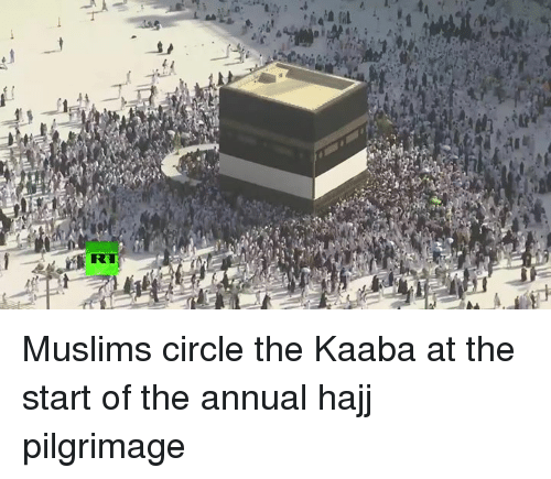 Dank, 🤖, and Hajj: Muslims circle the Kaaba at the start of the annual hajj pilgrimage