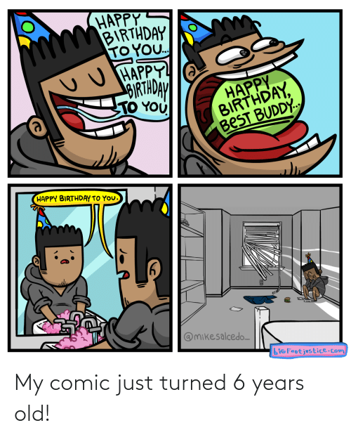 Turned: My comic just turned 6 years old!