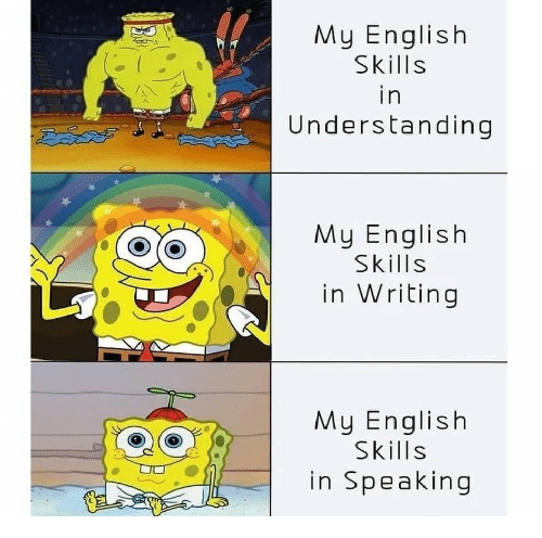 English, Understanding, and  Writing: My English  Skills  in  Understanding  My English  Skills  in Writing  My English  Skills  in Speaking