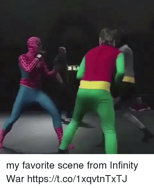 Funny, Infinity, and War: my favorite scene from Infinity War  https://t.co/1xqvtnTxTJ