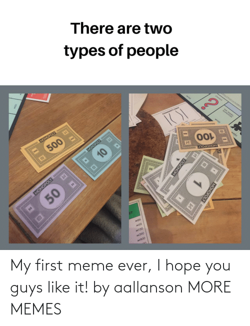 I Hope: My first meme ever, I hope you guys like it! by aallanson MORE MEMES