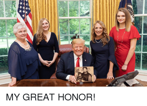 Great and Honor: MY GREAT HONOR!