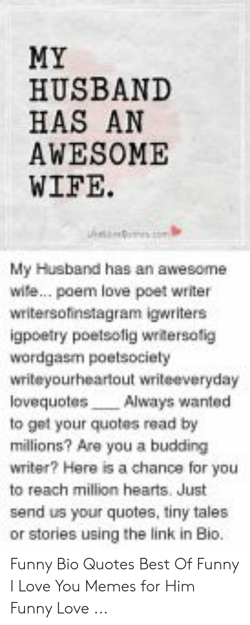 My Husband Has An Awesome Wife My Husband Has An Awesome