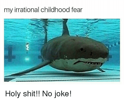Memes, 🤖, and Holy Shit: my irrational childhood fear Holy shit!! No joke!