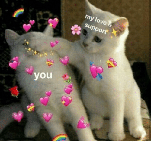 Love, You, and Support: my love  support  you