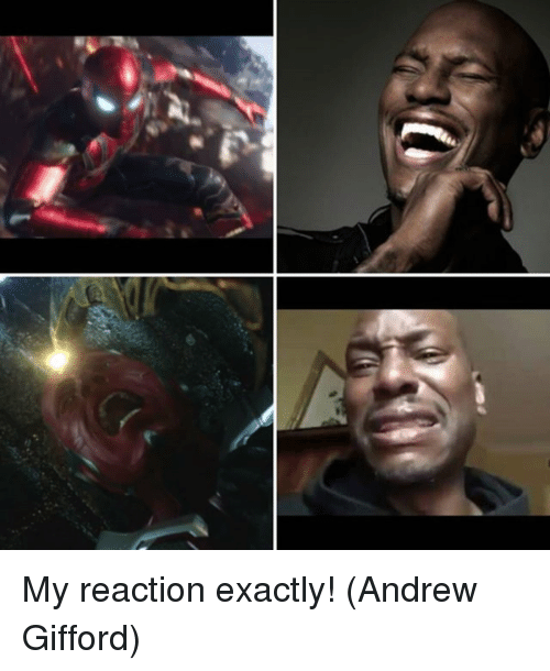 Memes, 🤖, and Exactly: My reaction exactly!  (Andrew Gifford)