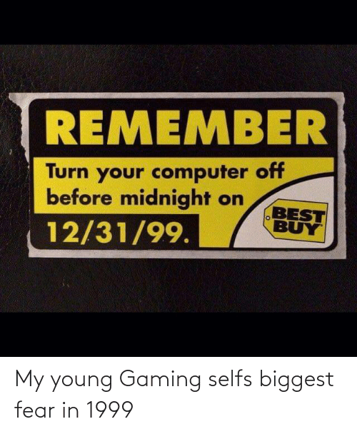 Gaming: My young Gaming selfs biggest fear in 1999