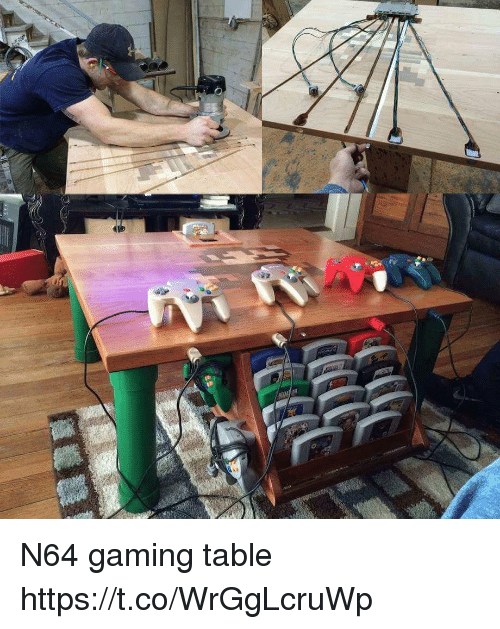 n64: N64 gaming table https://t.co/WrGgLcruWp