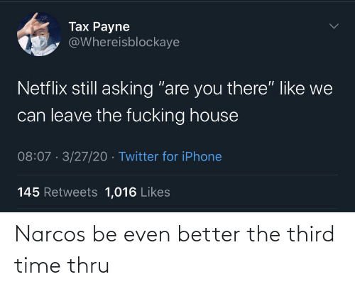 Narcos, Time, and  Better: Narcos be even better the third time thru