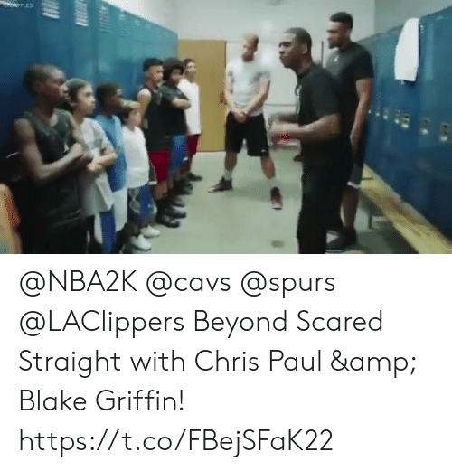 Chris Paul: @NBA2K @cavs @spurs @LAClippers Beyond Scared Straight with Chris Paul & Blake Griffin!    https://t.co/FBejSFaK22