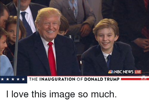 Inauguration Of Donald Trump: NBC NEWS LIVE  k THE INAUGURATION OF DONALD TRUMP I love this image so much.