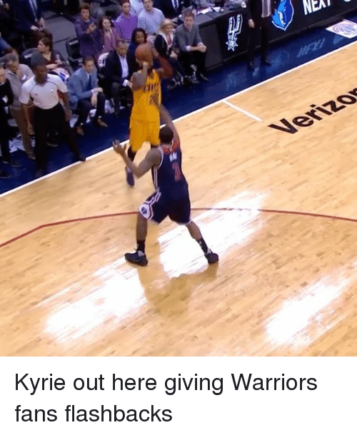 Sports, Neat, and Neats: NEAT  Venzy Kyrie out here giving Warriors fans flashbacks