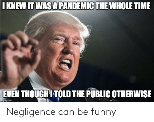 Conservative Memes: Negligence can be funny