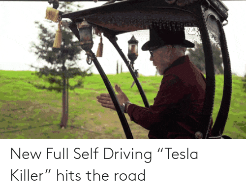 "The Road: New Full Self Driving ""Tesla Killer"" hits the road"