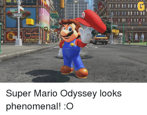 donks: NEW  NEW DONK CITM Super Mario Odyssey looks phenomenal! :O