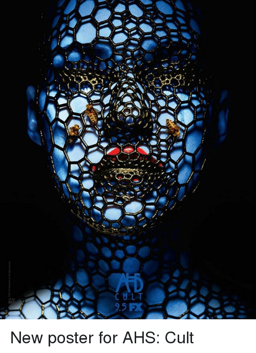 Memes, 🤖, and Cult: New poster for AHS: Cult