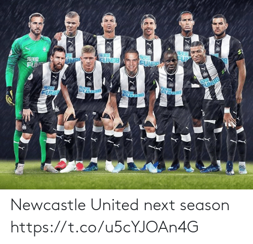 United: Newcastle United next season https://t.co/u5cYJOAn4G