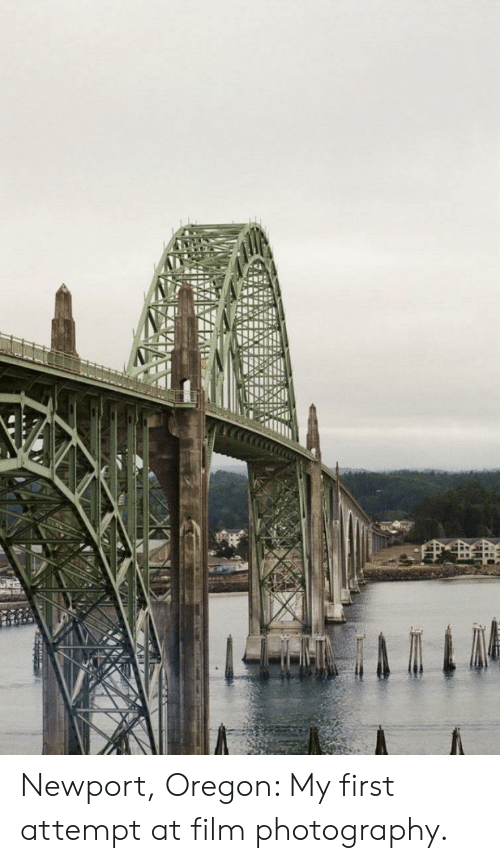 Newport, Oregon, and Photography: Newport, Oregon: My first attempt at film photography.
