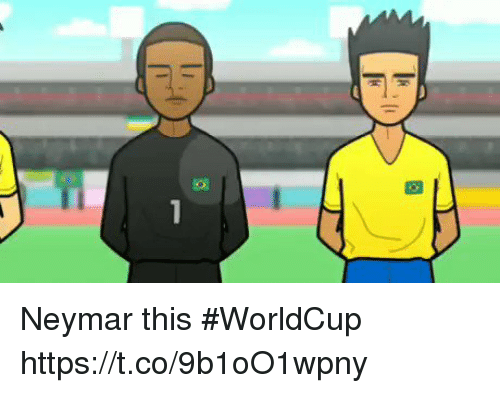 Memes, Neymar, and 🤖: Neymar this #WorldCup  https://t.co/9b1oO1wpny