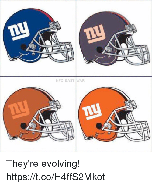 Memes, 🤖, and War: NFC EAST WAR They're evolving! https://t.co/H4ffS2Mkot