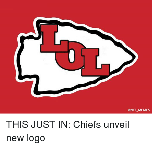 Memes, Nfl, and Chiefs: @NFL MEMES THIS JUST IN: Chiefs unveil new logo