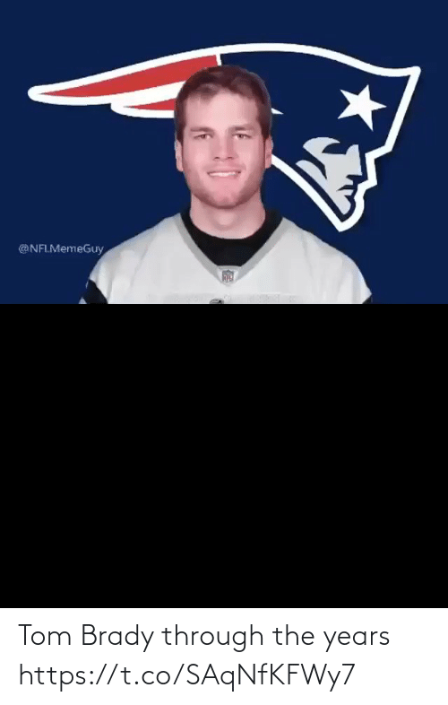 Football, Nfl, and Sports: @NFLMemeGuy Tom Brady through the years https://t.co/SAqNfKFWy7