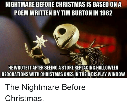 Nightmare Before Christmas Memes Funny.Nightmare Before Christmas Birthday Meme Funny Tim Burton