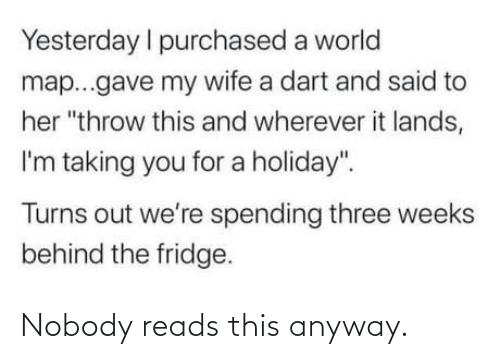 nobody: Nobody reads this anyway.