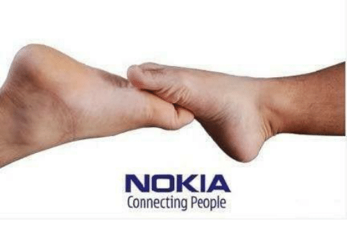 Dank, 🤖, and Nokia: NOKIA  Connecting People