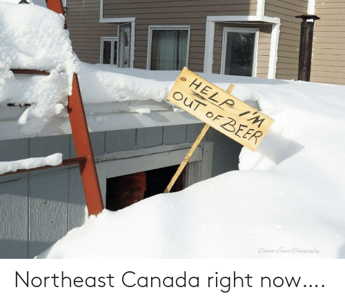 Canada: Northeast Canada right now….