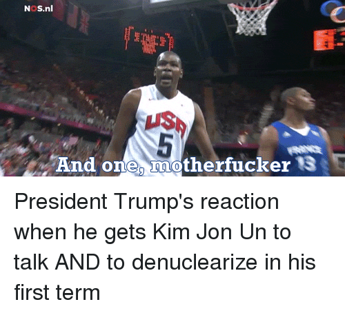 One, President, and Kim: NoS.nl  US  one, motherfucker 3