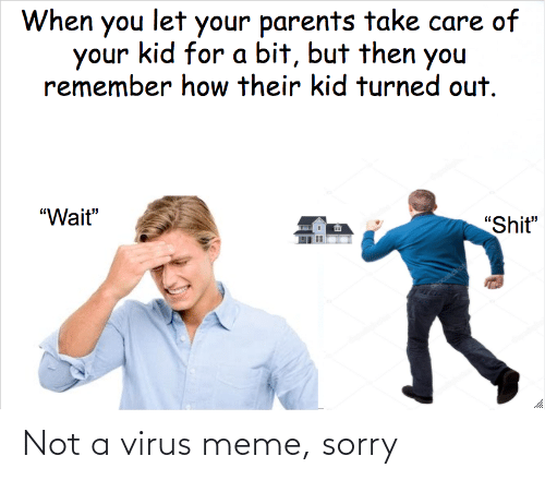 Sorry: Not a virus meme, sorry