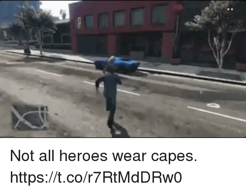 Video Games, Heroes, and All: Not all heroes wear capes. https://t.co/r7RtMdDRw0