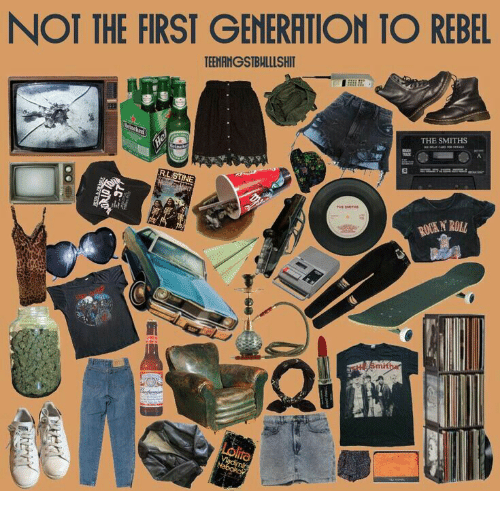 Lolita, The Smiths, and Rock: NOT THE FIRST GENERATION TO REBEL  TEENANGSIBHLLLSHIT  THE SMITHS  A  enken  Heinck  R.LSTINE  ThHE BMITHs  ROCK N ROLL  Smitha  Lolita  Viadimir  Nabokok