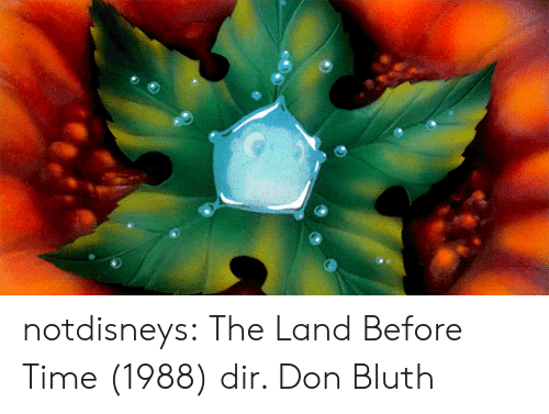 Target, Tumblr, and Blog: notdisneys: The Land Before Time (1988) dir. Don Bluth