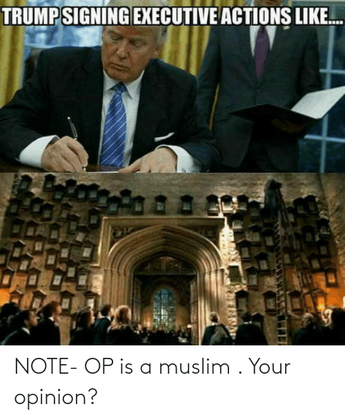 Muslim: NOTE- OP is a muslim . Your opinion?