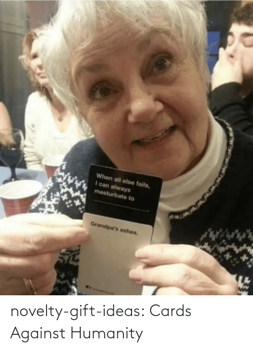 Humanity: novelty-gift-ideas:   Cards Against Humanity