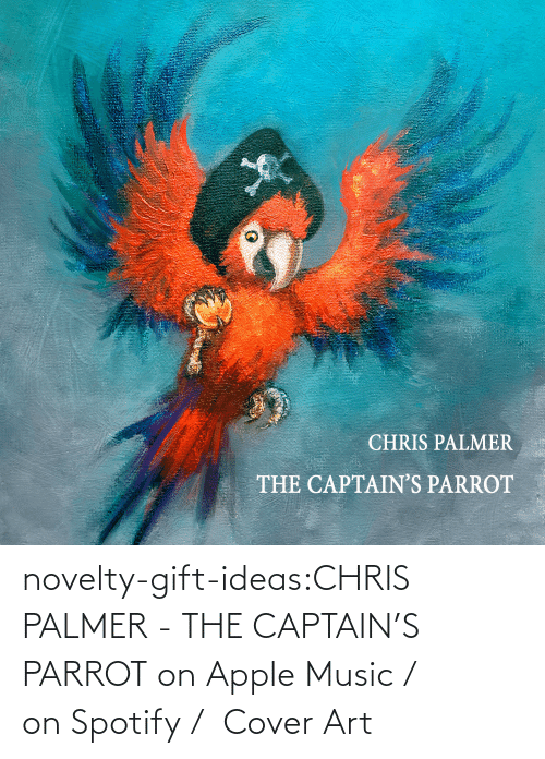 Cover: novelty-gift-ideas:CHRIS PALMER - THE CAPTAIN'S PARROT on Apple Music /  on Spotify /  Cover Art