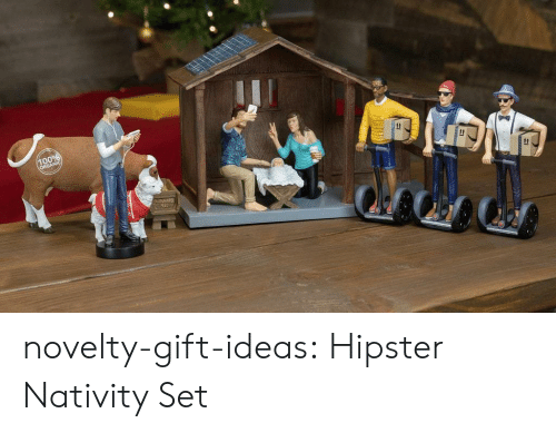 Hipster, Tumblr, and Blog: novelty-gift-ideas:  Hipster Nativity Set