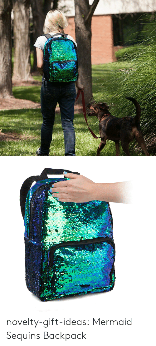 sequins: novelty-gift-ideas:  Mermaid Sequins Backpack