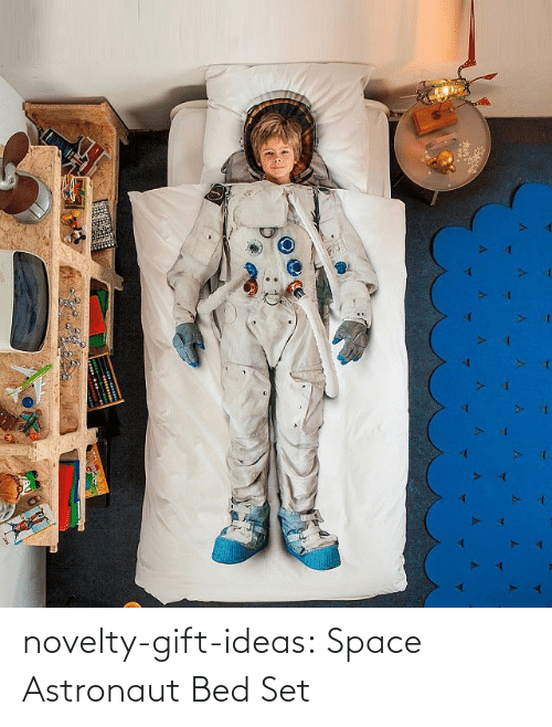Space: novelty-gift-ideas:  Space Astronaut Bed Set