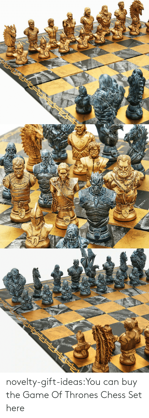 can: novelty-gift-ideas:You can buy the   Game Of Thrones Chess Set here